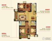 明月湾4室2厅2卫125--139平方米户型图