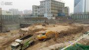 建华城市广场实景图