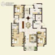 华明星海湾3室2厅2卫153平方米户型图
