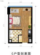 富驰大厦1室1厅1卫0平方米户型图