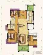 杭州碧桂园4室2厅2卫0平方米户型图