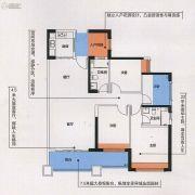 瀚林澜山3室2厅2卫131平方米户型图