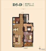 国瑞瑞城2室2厅1卫89平方米户型图