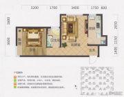 保利・茉莉公馆1室1厅1卫58平方米户型图