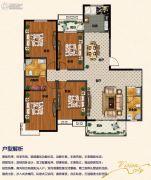 佳田未来城4室2厅2卫182平方米户型图
