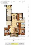 绿地・国际花都0室0厅0卫0平方米户型图