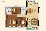 碧桂园翡翠湾3室2厅2卫106平方米户型图
