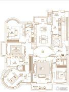 绿洲康城金邸3室2厅3卫0平方米户型图