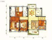 碧桂园半山龙庭4室2厅2卫119平方米户型图