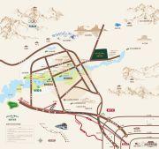 城建万科城交通图