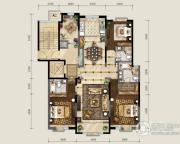 保利东郡4室2厅3卫165平方米户型图