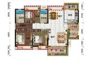 金穗・悦景台3室2厅2卫119平方米户型图