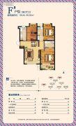 荣盛・香榭兰庭0室0厅0卫99平方米户型图