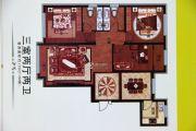 香格里拉花园3室2厅2卫126平方米户型图