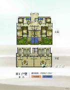 康辉・苏州壹号3室2厅2卫206--216平方米户型图