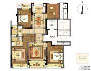 翡翠城梧桐郡4室2厅2卫0平方米户型图