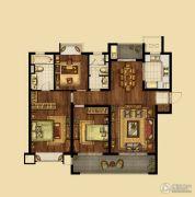 海峡城3室2厅2卫140平方米户型图
