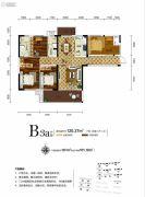 新华联・梦想城4室2厅2卫120平方米户型图