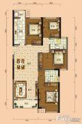 南宁安吉万达广场4室2厅2卫114平方米户型图