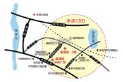 香港城二期交通图