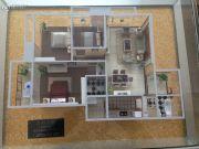 楚荣・首府3室2厅2卫117平方米户型图