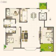圣亚・绿溪园3室2厅2卫188平方米户型图