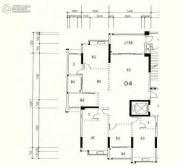 星湖城4室2厅3卫0平方米户型图