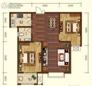 星耀东方国际城2室2厅1卫87--88平方米户型图