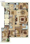 维科月湖花园6室3厅5卫290平方米户型图