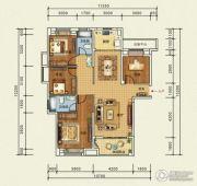 宜化・巴黎香颂4室2厅2卫140平方米户型图