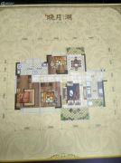 锦绣山河五期3室2厅2卫0平方米户型图