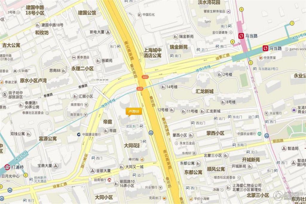 卢湾68 交通图