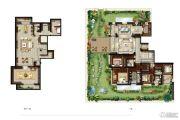 金地天境4室2厅4卫0平方米户型图