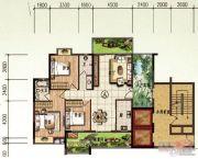 颐和山庄3室2厅2卫110平方米户型图