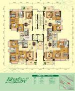 天鹅湾3室2厅2卫84--137平方米户型图