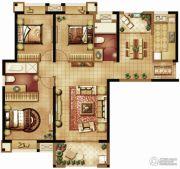 保利・香槟国际3室2厅2卫113平方米户型图