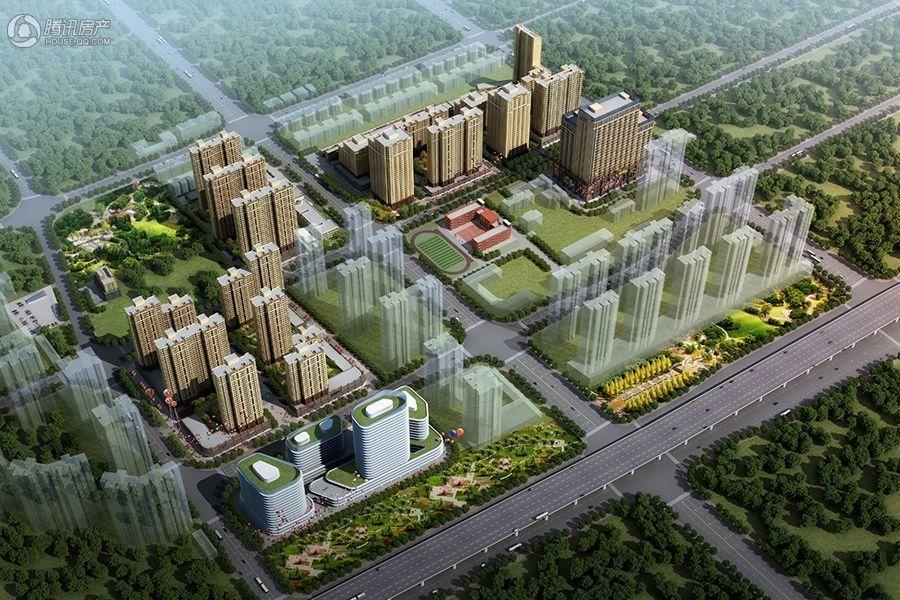 泰山誉景项目鸟瞰图