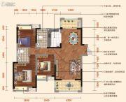 弘洋・凡尔赛花园3室2厅2卫119平方米户型图