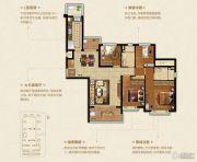 恒大悦珑湾4室2厅2卫140平方米户型图