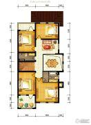 水静界4室2厅2卫285平方米户型图