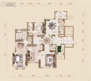 海宁湾3室2厅4卫225平方米户型图