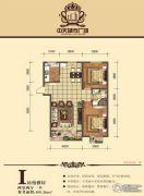 中天城市广场2室2厅1卫109--110平方米户型图