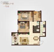 御笔城市广场3室2厅1卫102平方米户型图