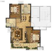 海信珠山小镇2室2厅1卫85平方米户型图