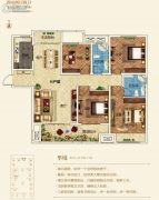 建业壹号城邦4室2厅2卫145平方米户型图