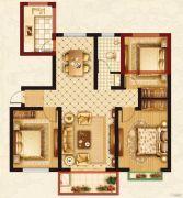 梦溪嘉苑NO.53室2厅0卫115平方米户型图