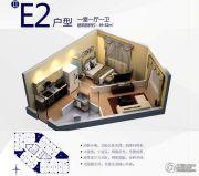 朗悦公园道1�1室1厅1卫49--82平方米户型图