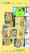 水岸花城5室2厅2卫182平方米户型图
