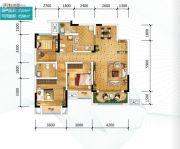 金科天宸0室0厅0卫84平方米户型图