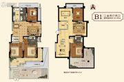 中建・柒号院3室2厅2卫135平方米户型图